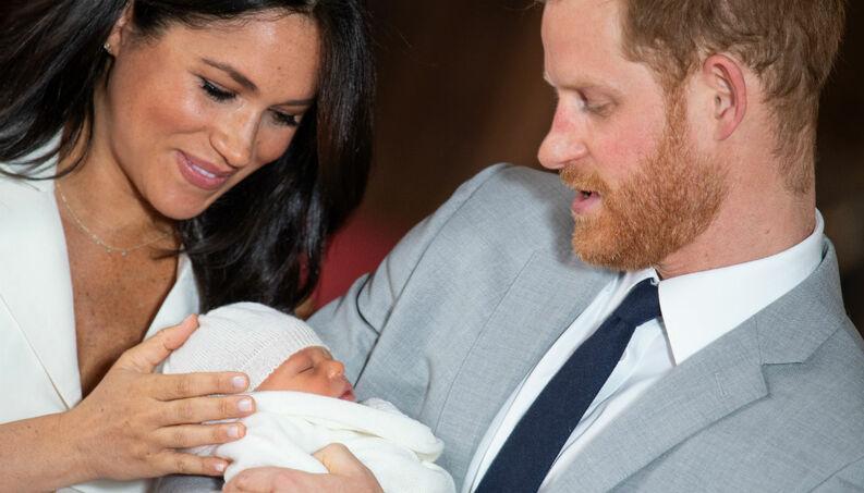Meghan, Harry e o bebê real