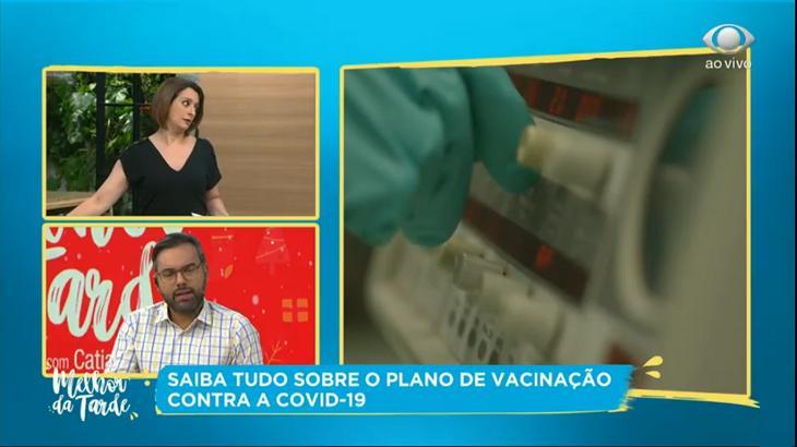 Cátia Fonseca no Melhor da Tarde com Alex Sampaio