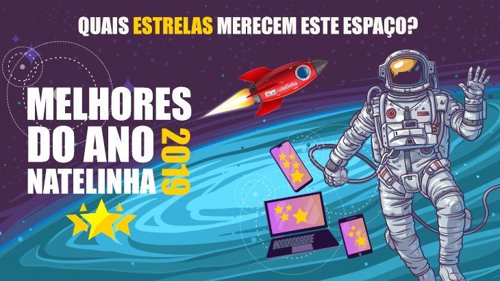 Banner de divulgação do Melhores do Ano NaTelinha 2019
