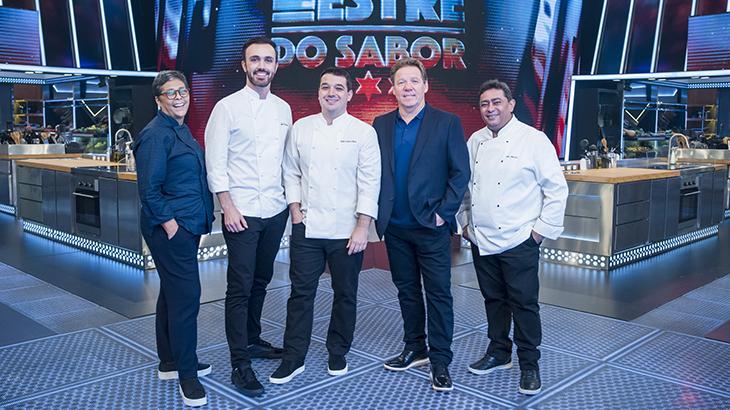 Elenco de Mestre do Sabor, competição gastronômica da Globo