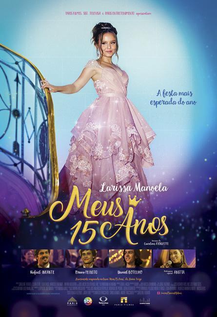 """SBT divulga trailer de \""""Meus 15 anos\"""", filme estrelado por Larissa Manoela"""