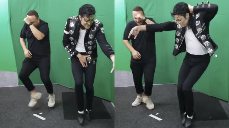 Ed Gama e Rodrigo Teaser dançam música de Os Barões da Pisadinha
