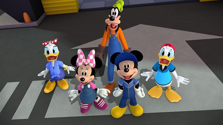 """Canal da Disney estreia segunda temporada de \""""Mickey: Aventuras sobre Rodas\"""""""