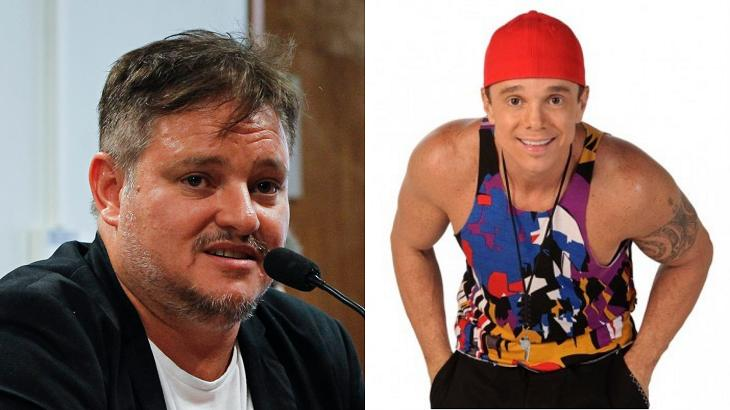 Manno Góes (à esquerda) e Netinho (à direita) em foto montagem