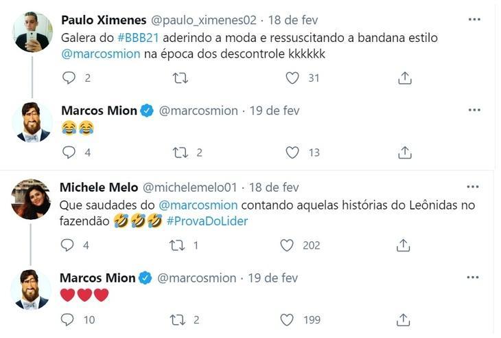 Fora da Record, Marcos Mion flerta com espaço de Tiago Leifert na web