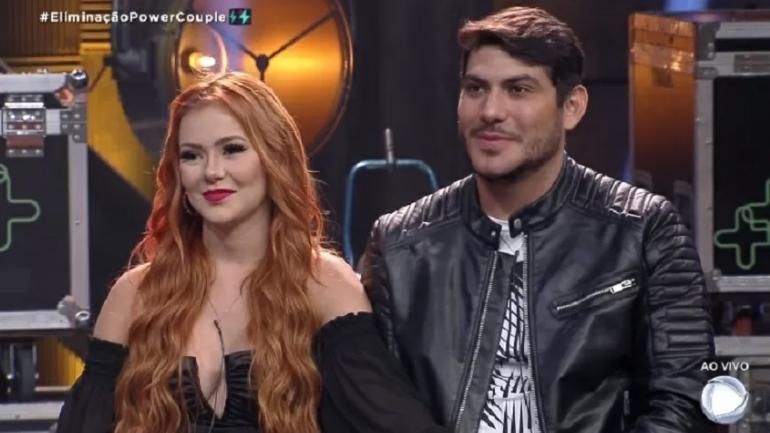 Power Couple com Mirela Janis e Yugnir ângelo