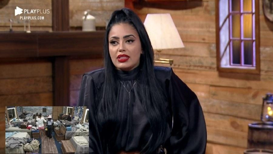 MC Mirella em entrevista depois de eliminada