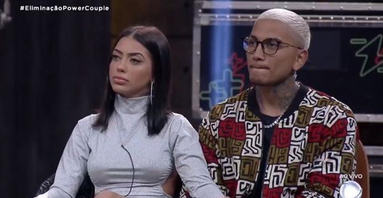 Mirella e Dynho estão fora do programa
