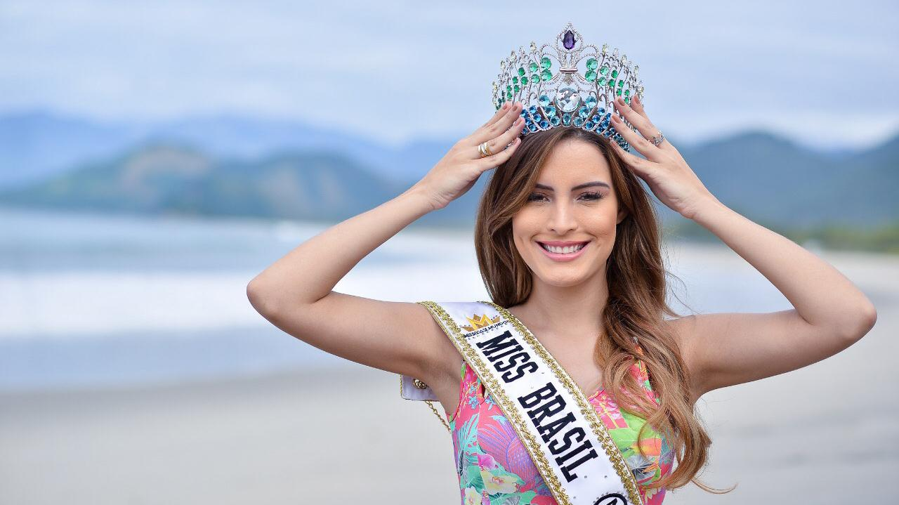 A atual Miss Brasil Mundo, Jéssica Carvalho
