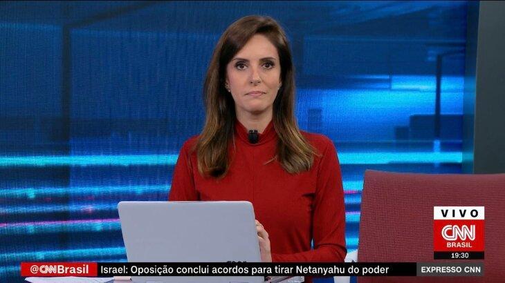 Monalisa Perrone durante o Expresso CNN