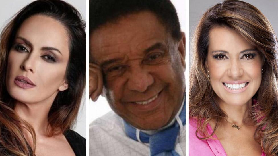 Núbia Oliver, Agnaldo Timóteo e Solange Frazão