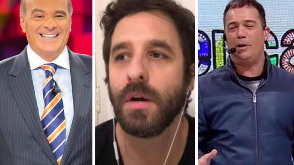 Marcelo de Carvalho, Rafinha Bastos e Tatola Godas
