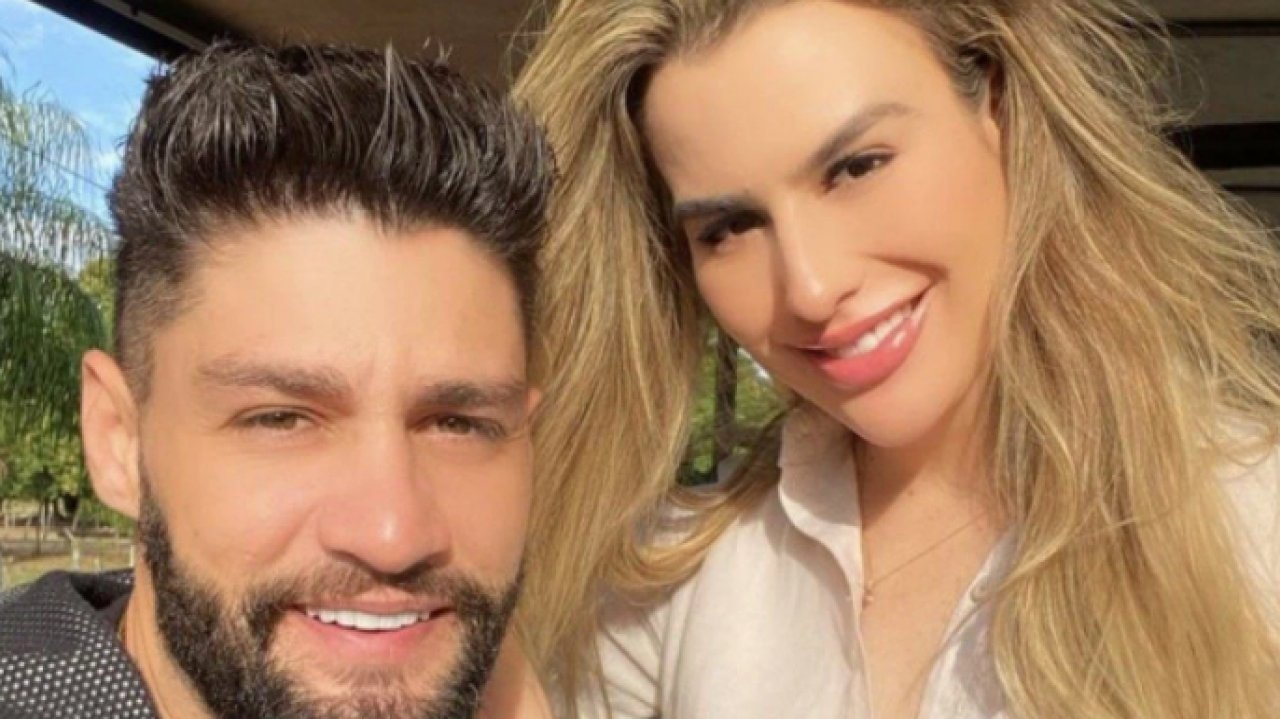 Munhoz e Fernanda Keulla