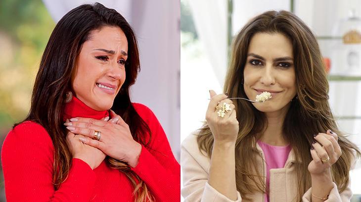 Nadja Haddad e Ticiana Villas Boas, apresentadoras do Bake Off Brasil
