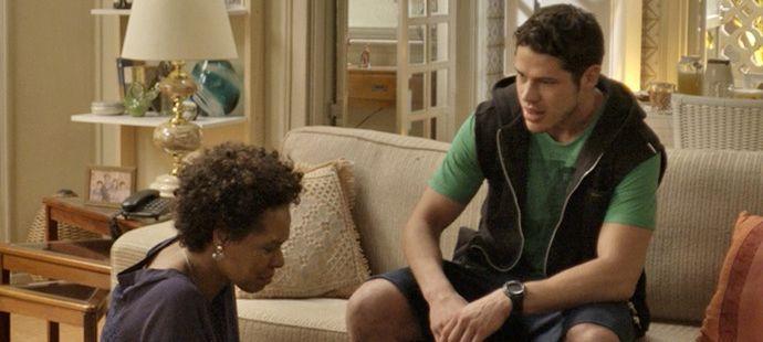 """Haja Coração: Adonis conhece sua verdadeira mãe e dispara: \""""Me jogou fora\"""""""