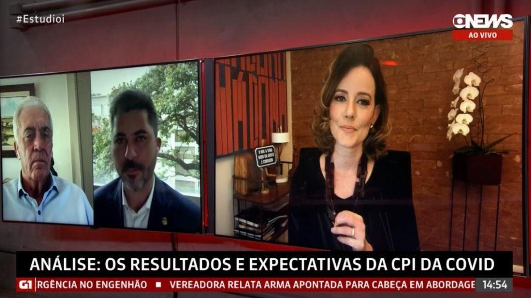 Natuza Nery participa de debate no Estúdio i, na GloboNews