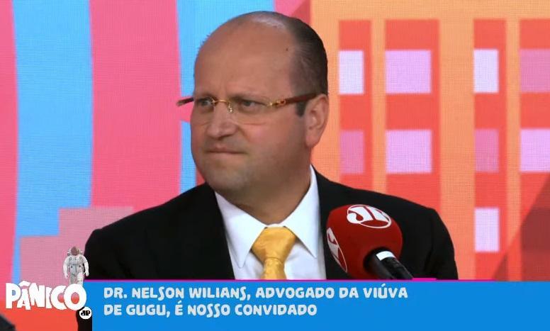 Nelson Willians no programa Pânico