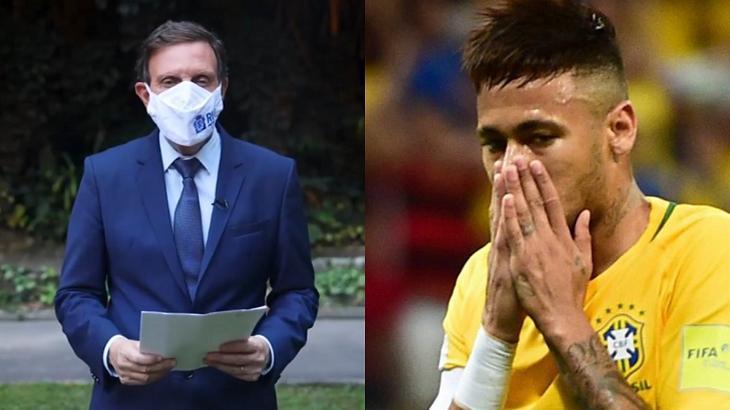 Neymar e Crivella