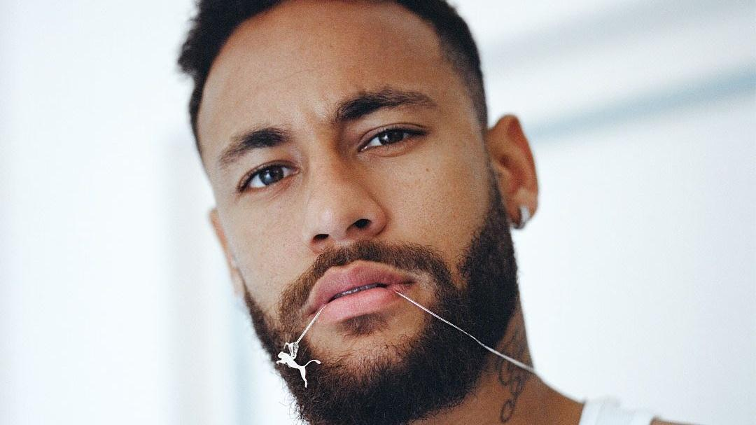 Neymar em foto de perfil