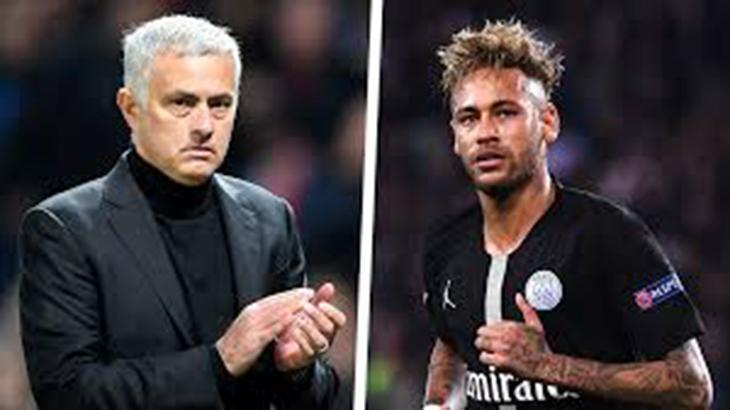 Mourinho e Neymar Jr.