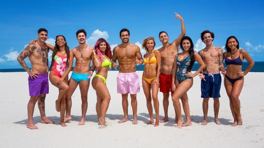 O elenco do novo De Férias com o Ex Brasil