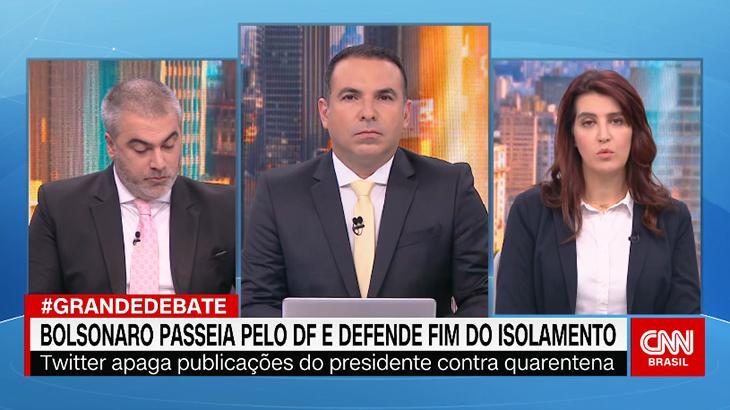 Equipe de O Grande Debate, da CNN Brasil