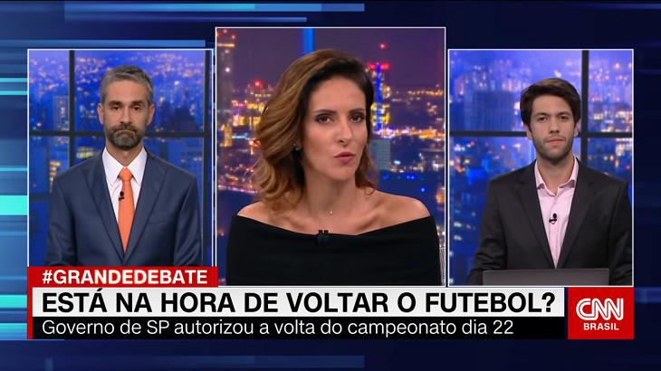 Augusto Botelho, Monalisa Perrone e Caio Coppolla