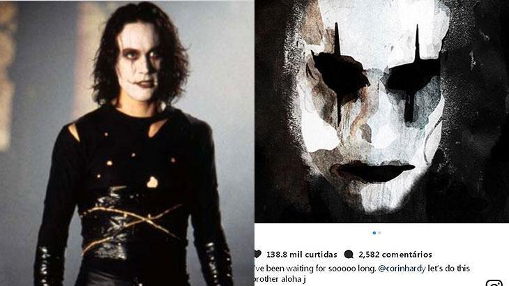 """Filme """"O Corvo"""" ganha remake e Jason Momoa será o protagonista"""