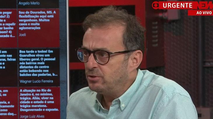 Octavio Guedes, comentarista da GloboNews