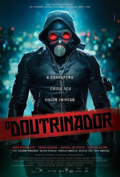 Filme de super-herói estrelado por Eduardo Moscovis tem cartaz divulgado