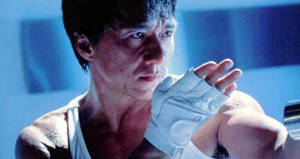 Jackie Chan lutando em O Grande Desafio