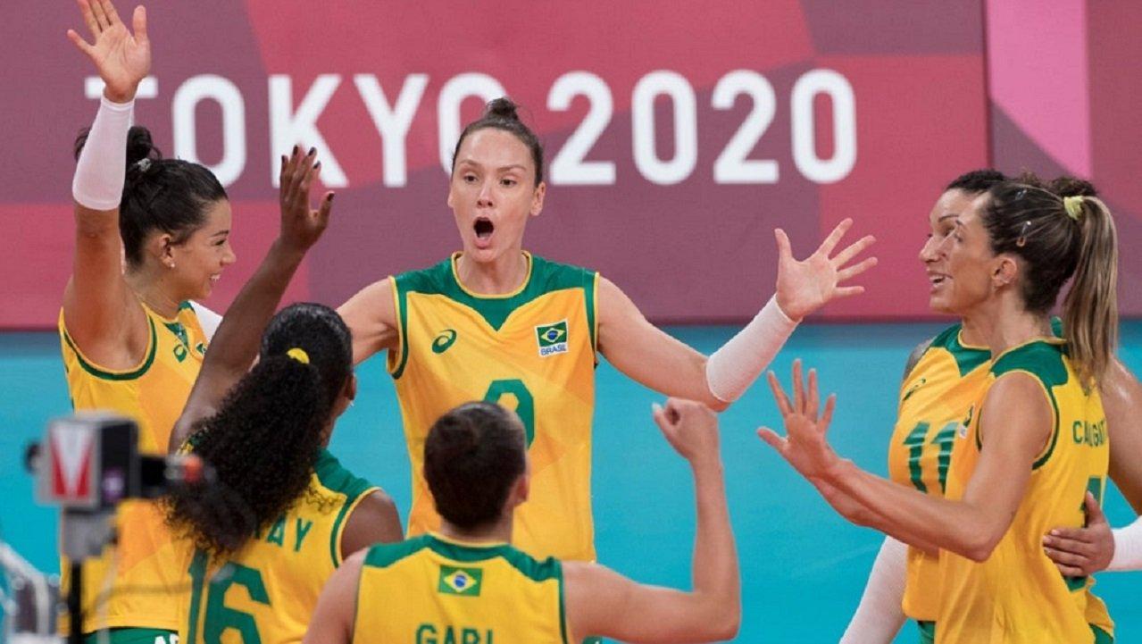 Equipe de vôlei feminina