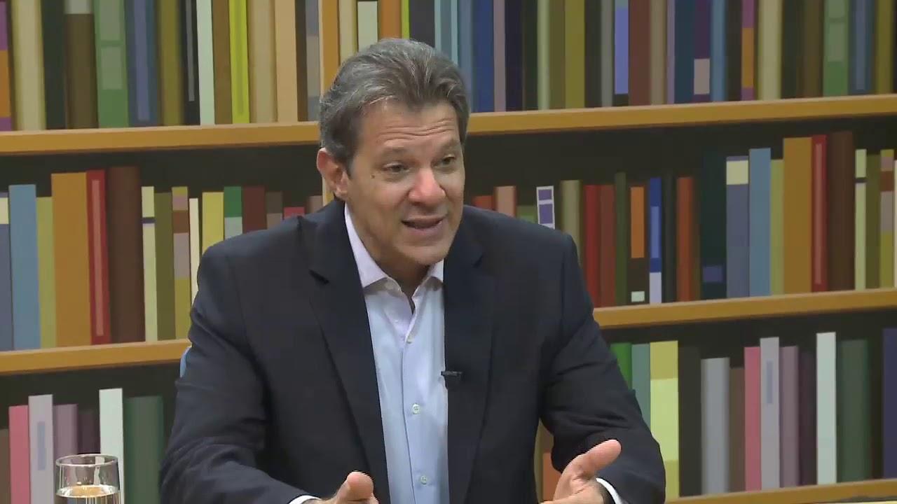 Fernando Haddad comanda talk show; próximo entrevistado é Tarso Genro