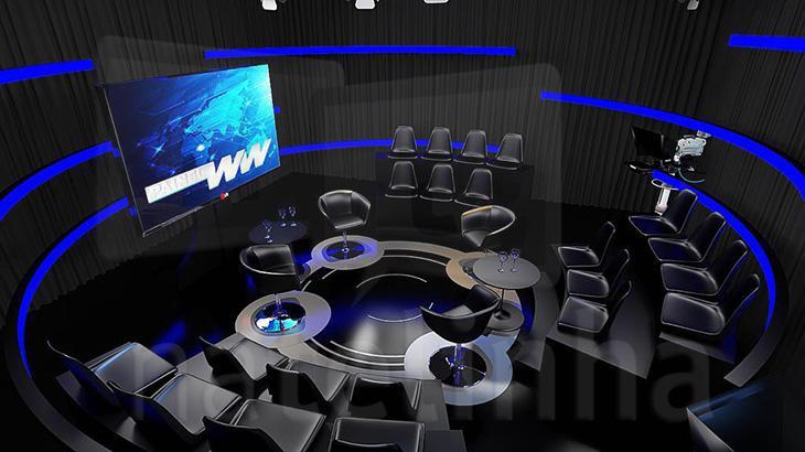 Vaza cenário do novo programa de William Waack pós-Globo; confira
