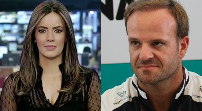 Paloma Tocci e Rubens Barrichello