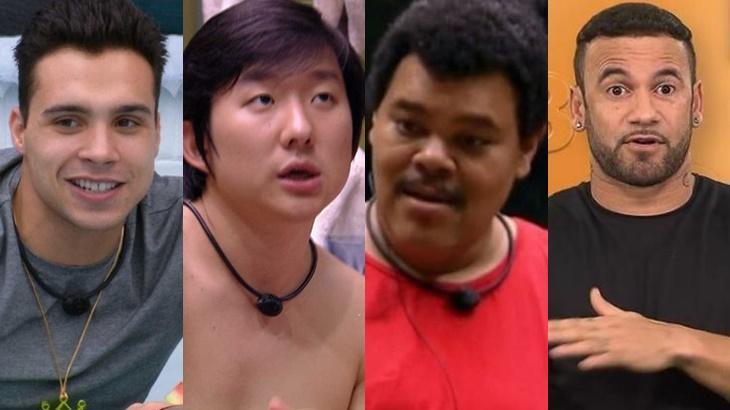 Petrix, Pyong, Babu e Hadson são no paredão do BBB20