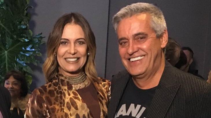 Mauro Naves e a esposa Patrícia Naves