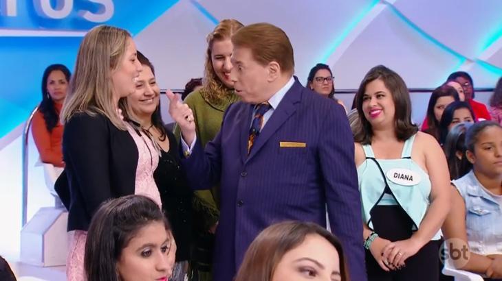 """Patricia manda recado a Eliana: \""""Quero entregar o programa pra você com mais audiência que o Faro\"""""""