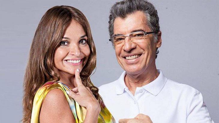 Luiza Tomé e Paulo Betti