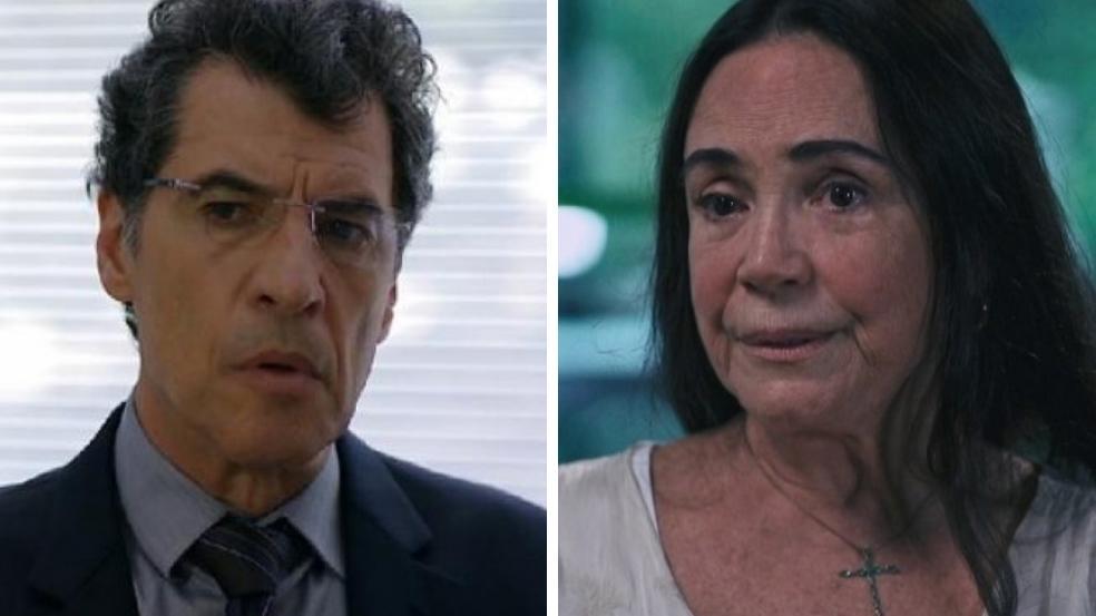 Paulo Betti e Regina Duarte