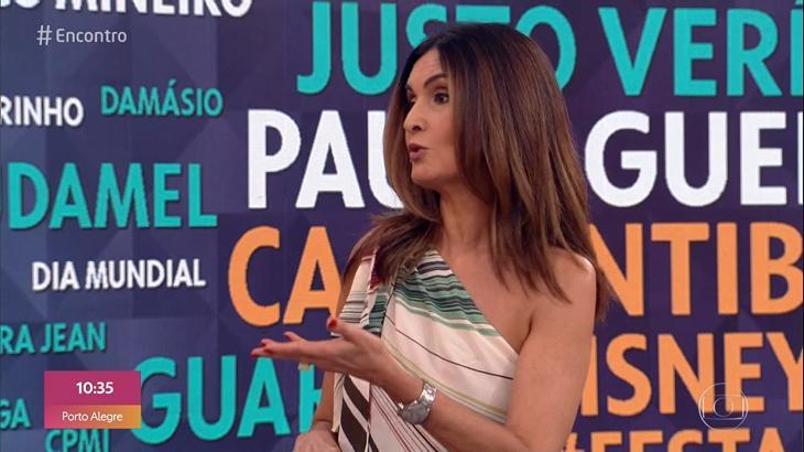 """Fátima Bernardes rebate Ministro de Bolsonaro: \""""Quem diz pra onde a gente vai é a gente\"""""""