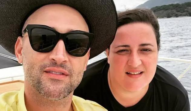 Paulo Gustavo e Ju Amaral