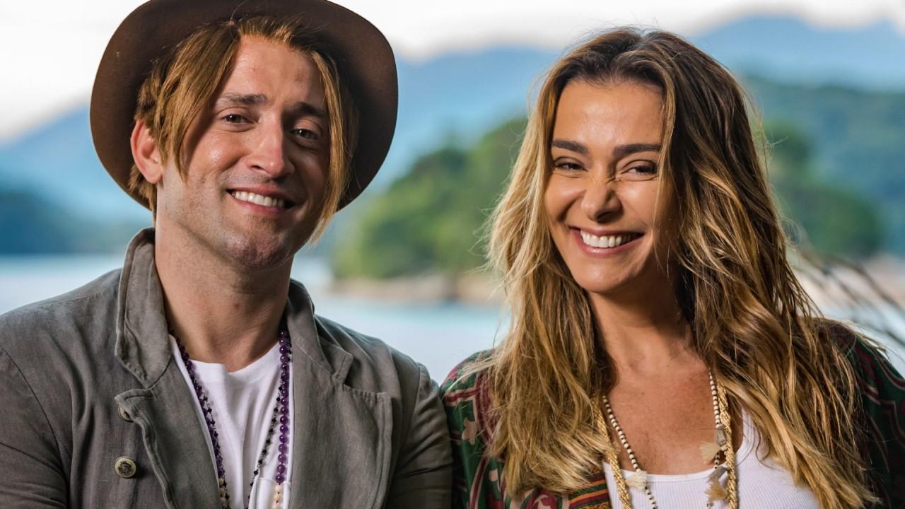 Paulo Gustavo e Mônica Martelli em foto de divulgação do filme Minha Vida em Marte, sucesso de 2018