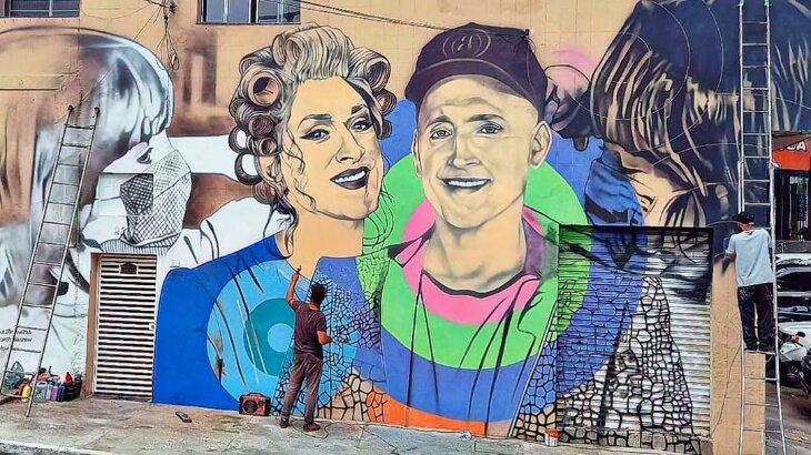 Paulo Gustavo ganha homenagem em mural em SP; confira