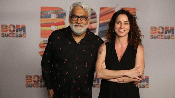 Os autores Rosane Svartman e Paulo Halm