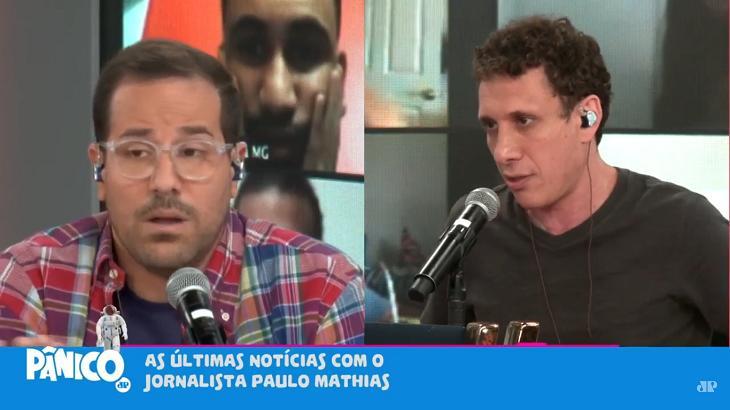 Samy Dana e Paulo Mathias no Pânico