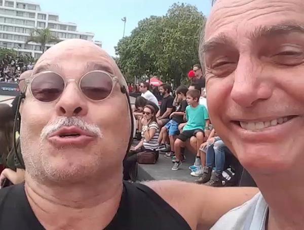 """Paulo Cintura detona \""""A Força do Querer\"""", defende intervenção militar e quer Bolsonaro presidente"""