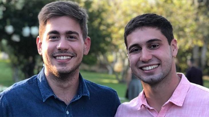 Pedro Figueiredo e Erick Rianelli