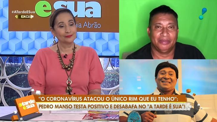 Sônia Abrão entrevistando Pedro Manso na RedeTV!