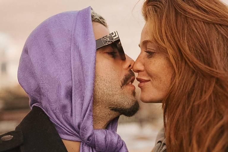 O casal Pedro Scooby e Cintia Dicker